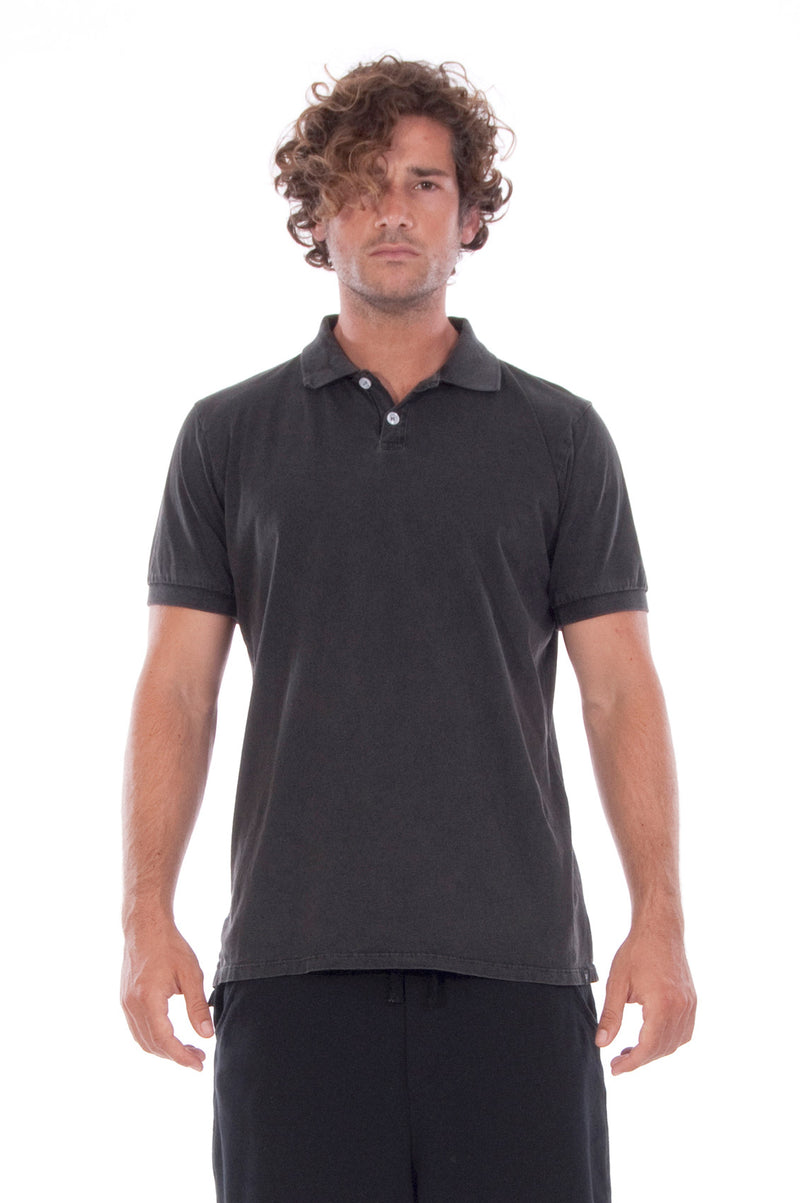 Polo - Colour Antracite and Short Pants - Colour Black - 2