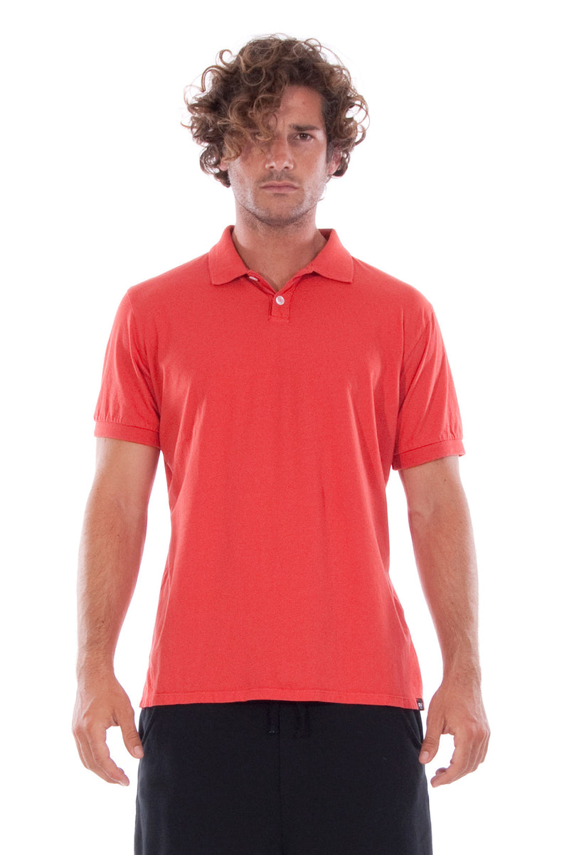 Polo - Colour Red and Short Pants - Colour Black - 2