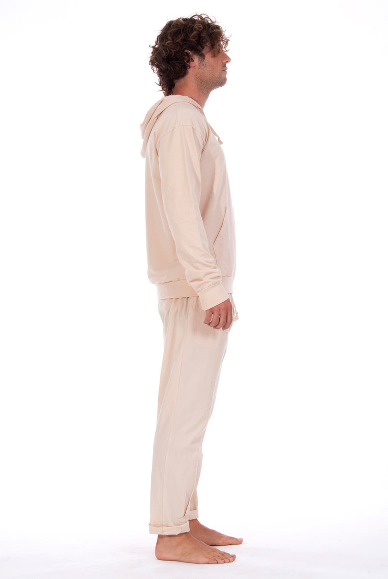 Ibiza - Hoodie - Colour Sand and Milano Pants - Colour Sand 3