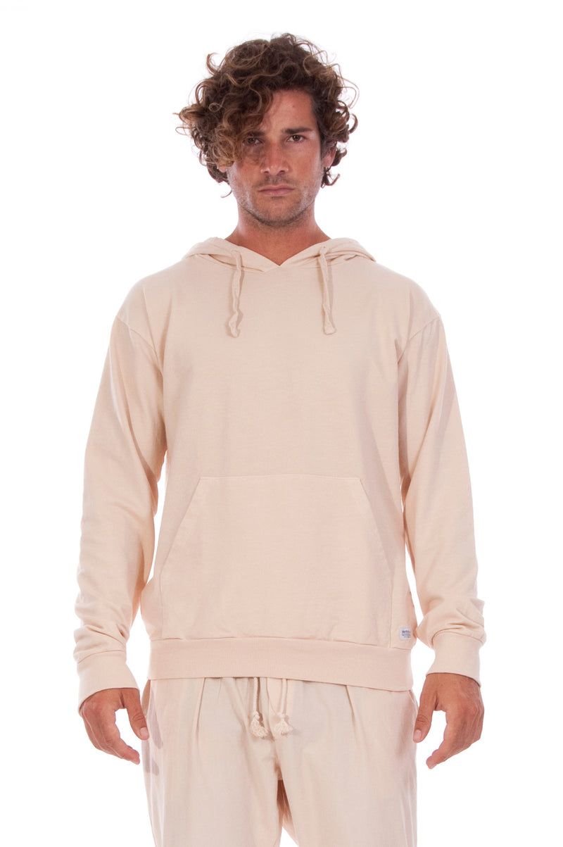 Ibiza - Hoodie - Colour Sand and Milano Pants - Colour Sand 2