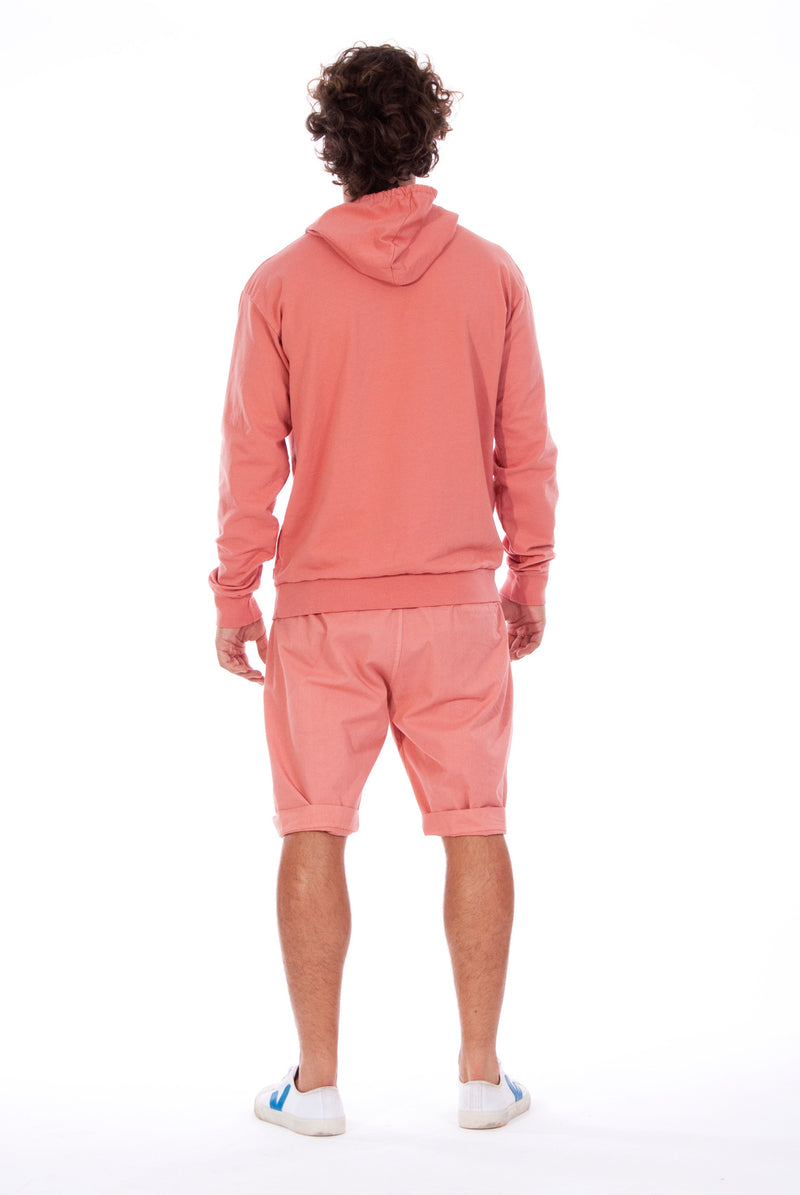 Ibiza - Hoodie - Colour Clay and Raven Shorts - Colour Clay 4