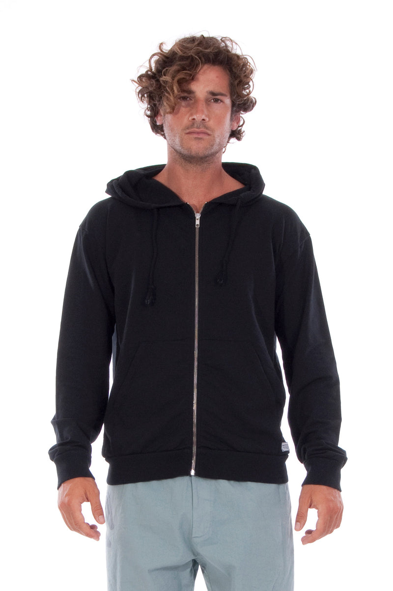 Zip Ibiza - Hoodie - Colour Black and Tokyo Pants - Colour Green 2