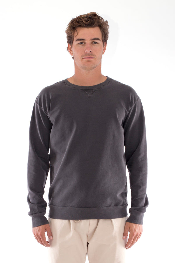 Salinas - Sweatshirt - Colour Anthracite and Monaco Pants - Colour Sand 2