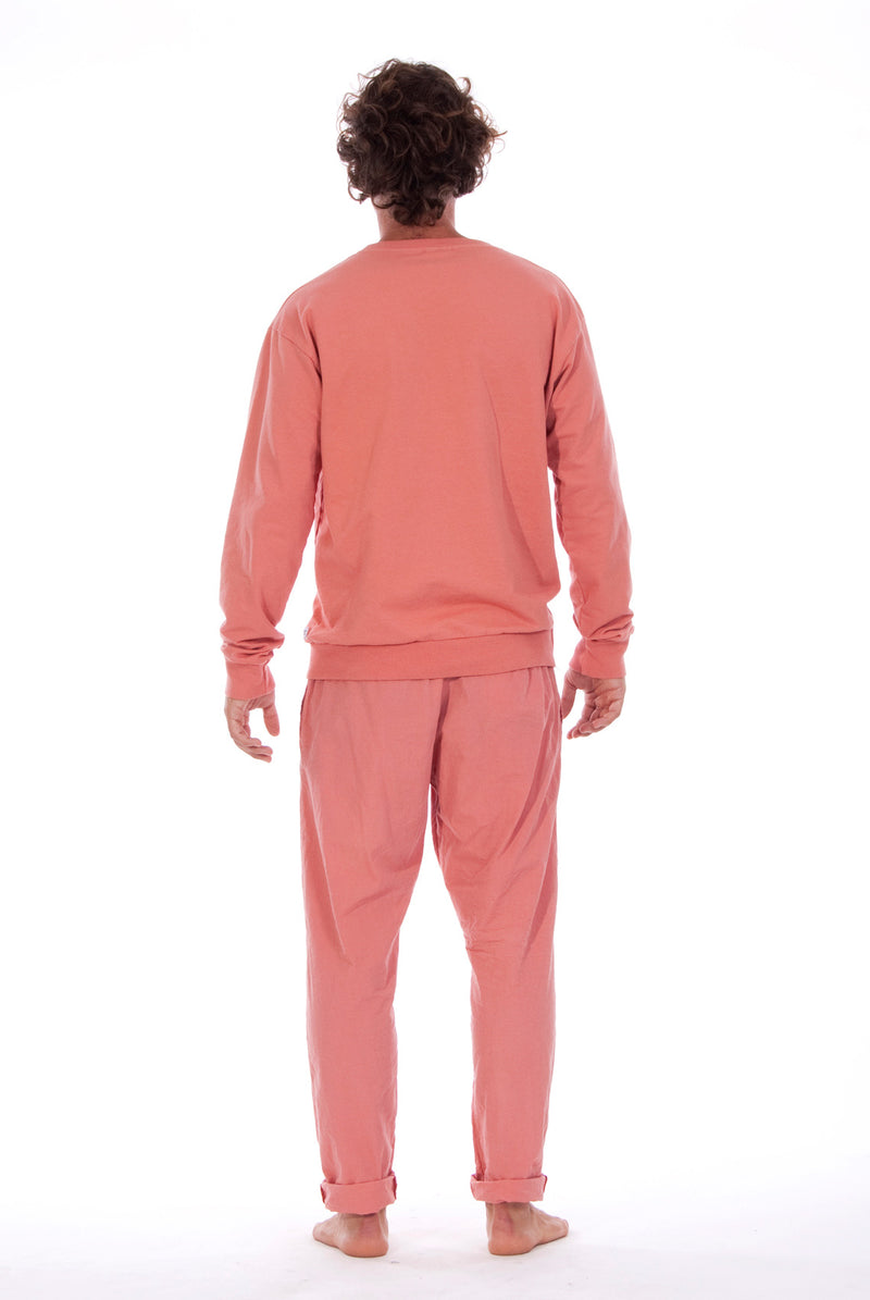 Salinas - Sweatshirt - Colour Clay and Milano Pants - Colour Clay 3