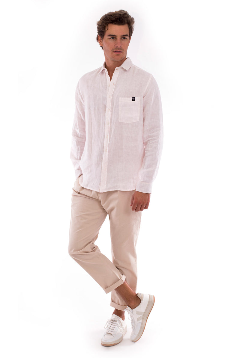 James - Shirt - Colour Rose and Monaco Pants - Colour Sand 6