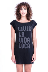 Livin' la vida loca - Dress - 80s - Colour Black - 2