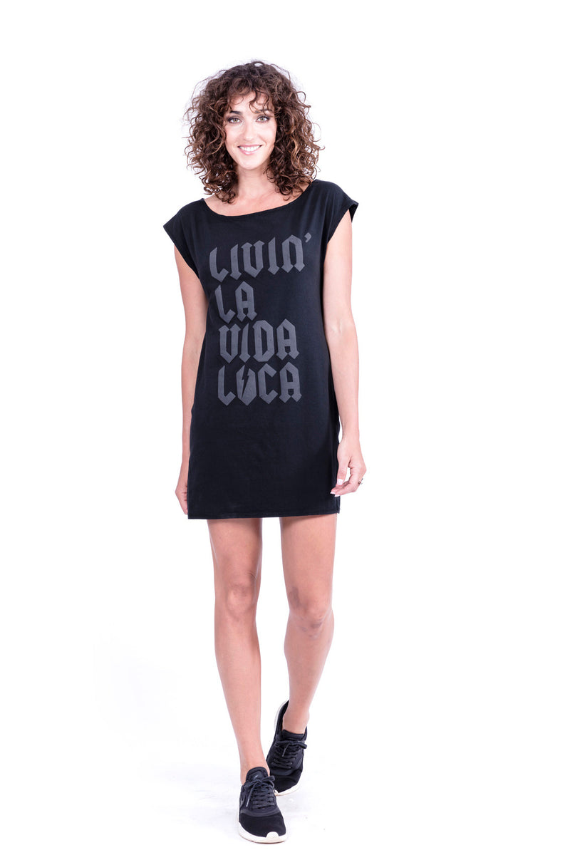 Livin' la vida loca - Dress - 80s - Colour Black - 1