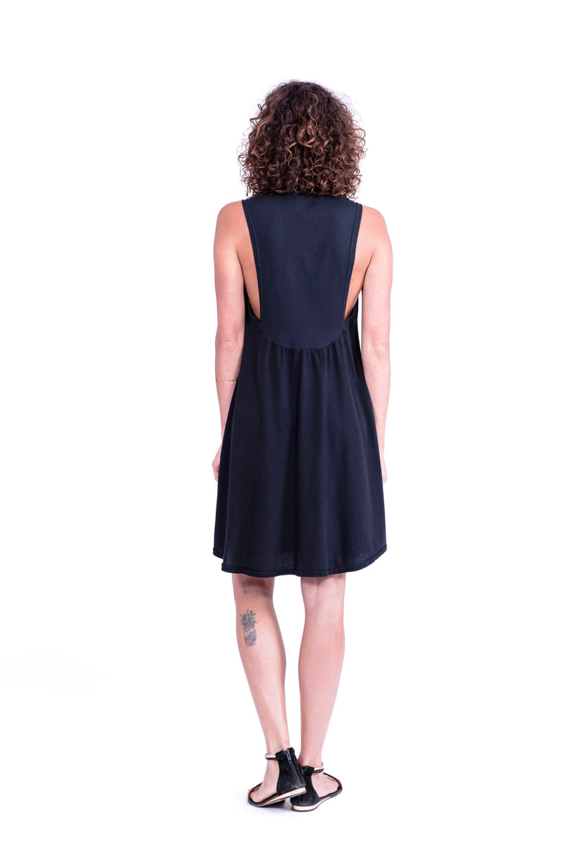Capri - Short Dress - Colour Black - RV by Elisa F 2