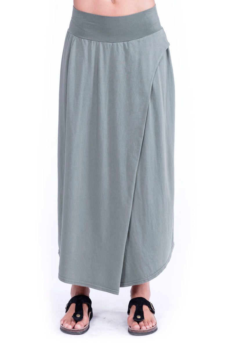 Pareo Skirt - Colour Khaki Elisa F 1