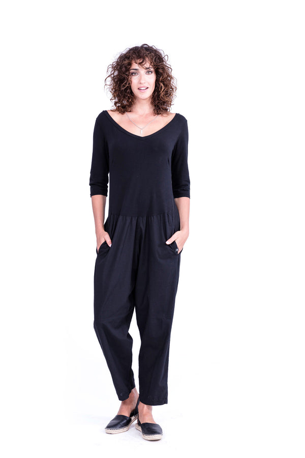 Midnight Mono - Jumpsuit - Colour Black - RV by Elisa F 1