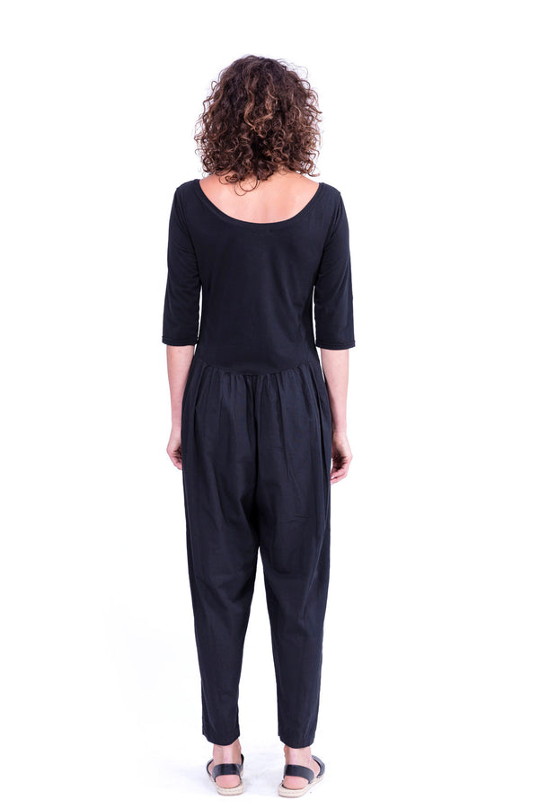 Midnight Mono - Jumpsuit - Colour Black - RV by Elisa F 2