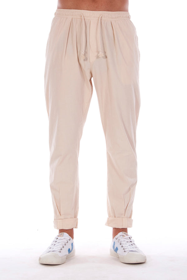 Milano Pants - Trousers - Colour Sand 1