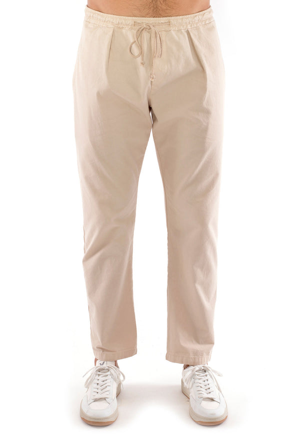 Monaco Pants - Draw Cord Waist - Colour Sand 1