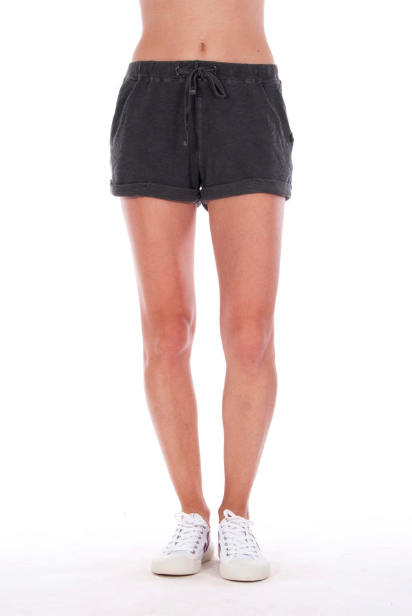 Sunset Mini Shorts - Colour Anthracite 2
