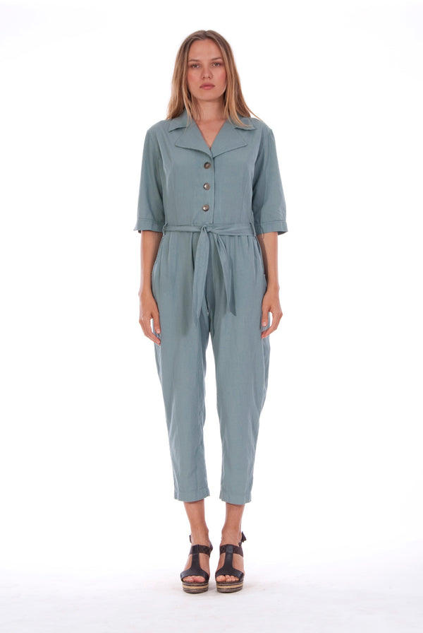 Chic Mono - Jumpsuit - RV by Elisa F - Colour Green 1