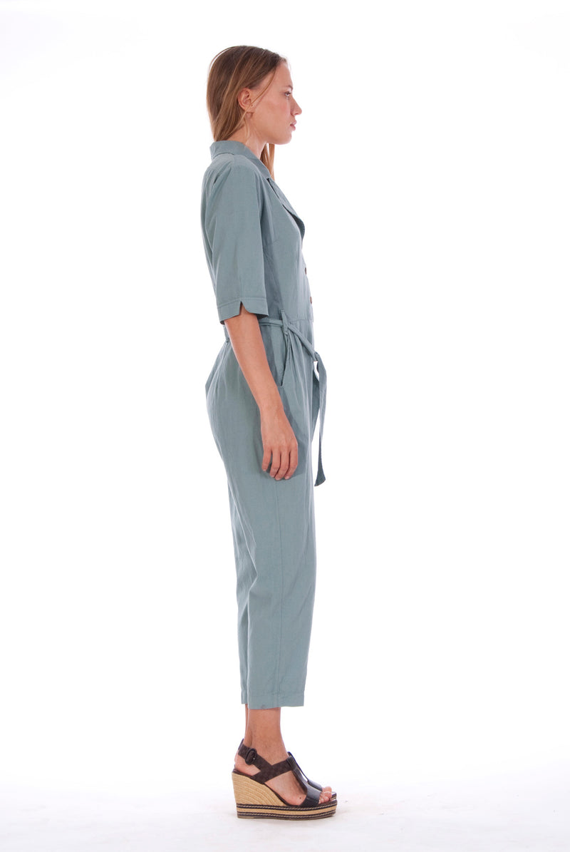 Chic Mono - Jumpsuit - RV by Elisa F - Colour Green 4