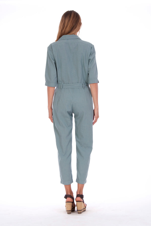 Chic Mono - Jumpsuit - RV by Elisa F - Colour Green 2