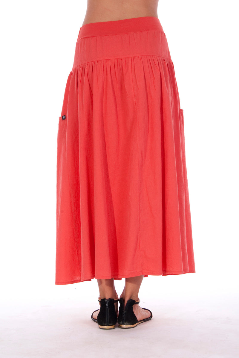 Athena - Long Skirt - RV by Elisa F - Colour Red 3