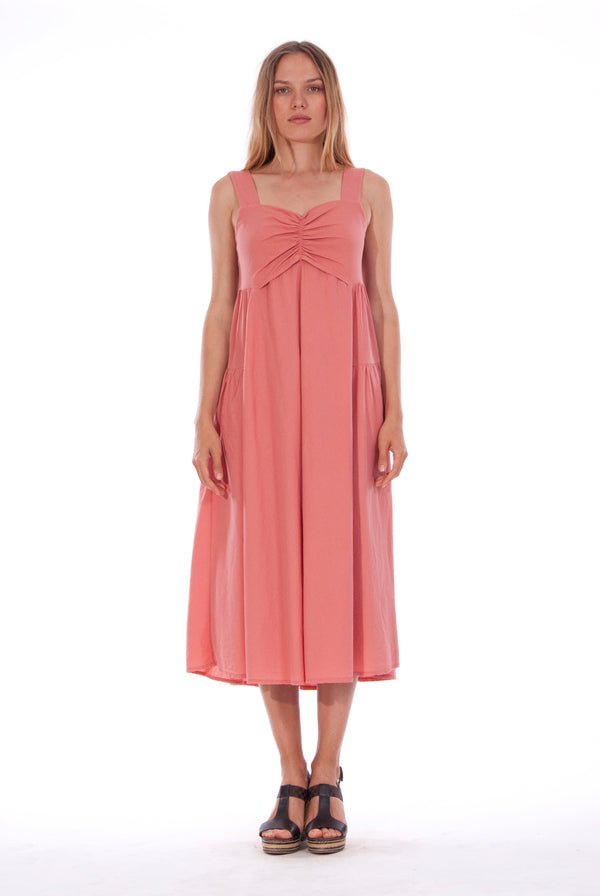 Audrey - Maxi Dress - RV by Elisa F - Colour Clay 1