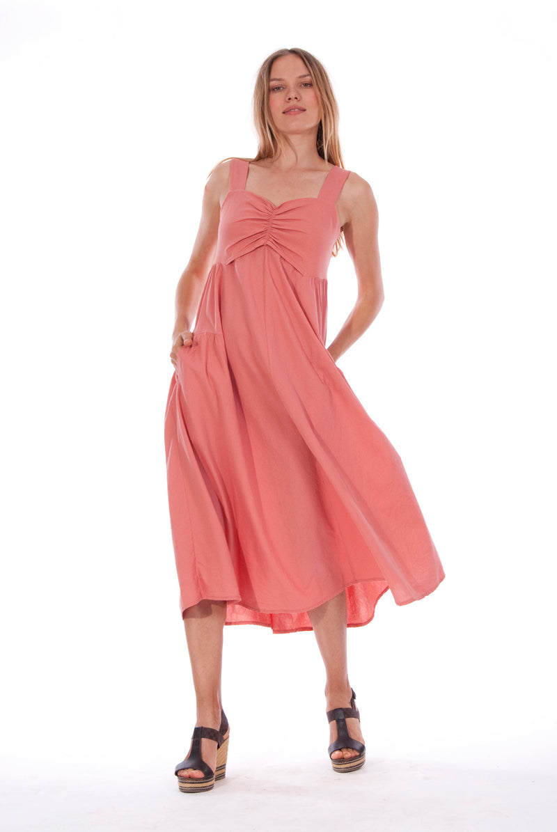 Audrey - Maxi Dress - RV by Elisa F - Colour Clay 4