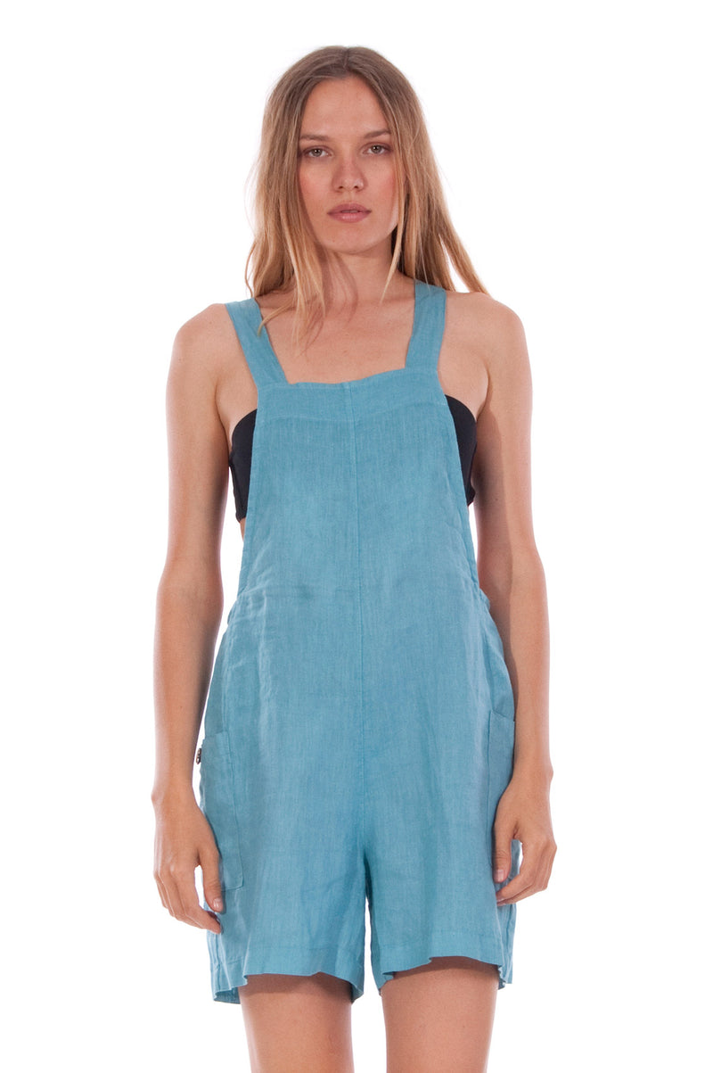 Mykonos Mono - Short Jumpsuit - Colour Blue 2