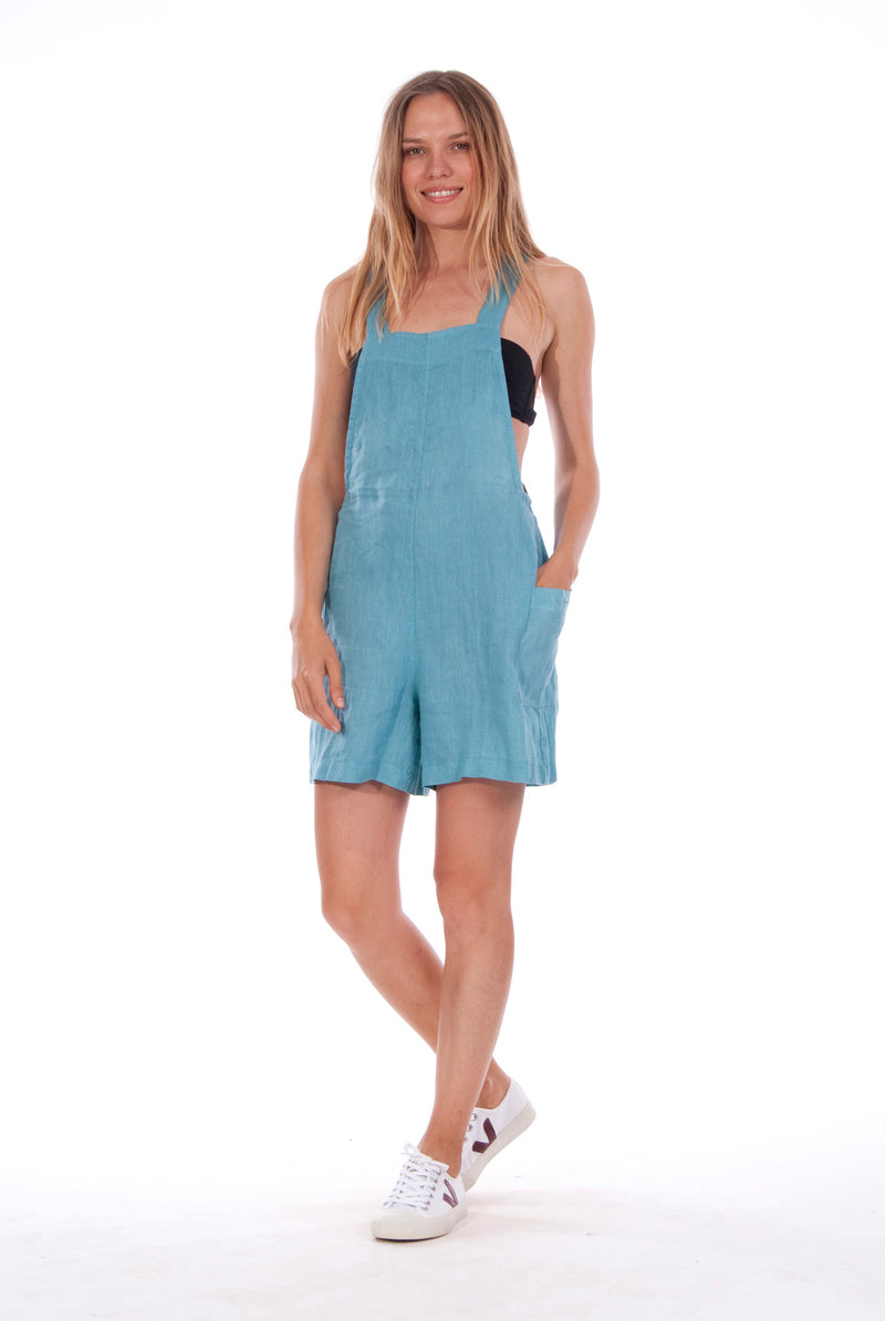 Mykonos Mono - Short Jumpsuit - Colour Blue 1