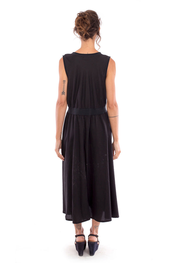 Penelope - Midi Dress - Colour Black - RV by Elisa F2