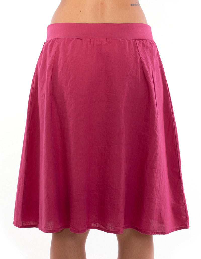 Bahamas - Skirt - Colour Garnet - RV by Elisa F 3