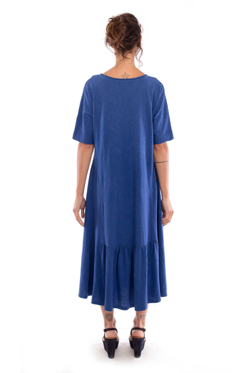 Luna - Long sleeve - Maxi Dress - Colour Blue-- RV by Elisa F 3