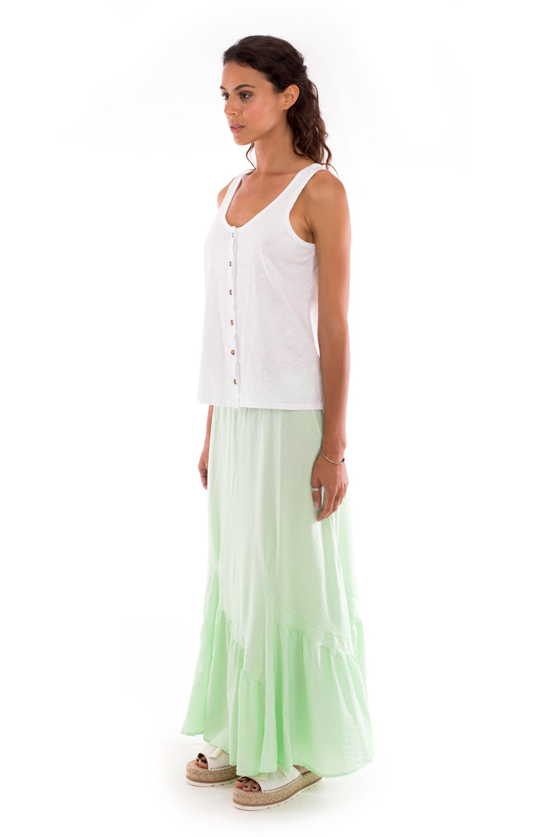 Selma - Skirt - Colour Mint and Athena Top - Colour White - RV by Elisa F 2