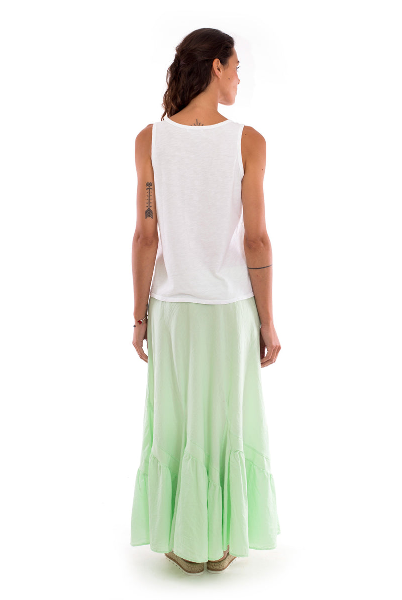 Selma - Skirt - Colour Mint and Athena Top - Colour White - RV by Elisa F 4