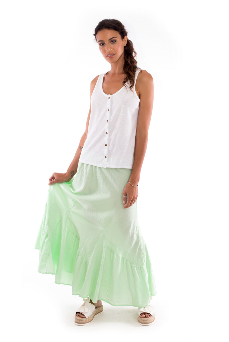 Selma - Skirt - Colour Mint and Athena Top - Colour White - RV by Elisa F 3