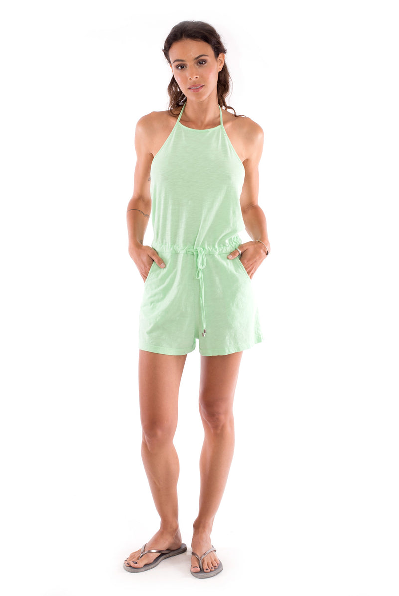 Aruba - Mono - Short Jumpsuit - Colour Mint-1