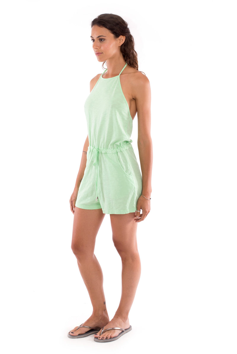 Aruba - Mono - Short Jumpsuit - Colour Mint 3