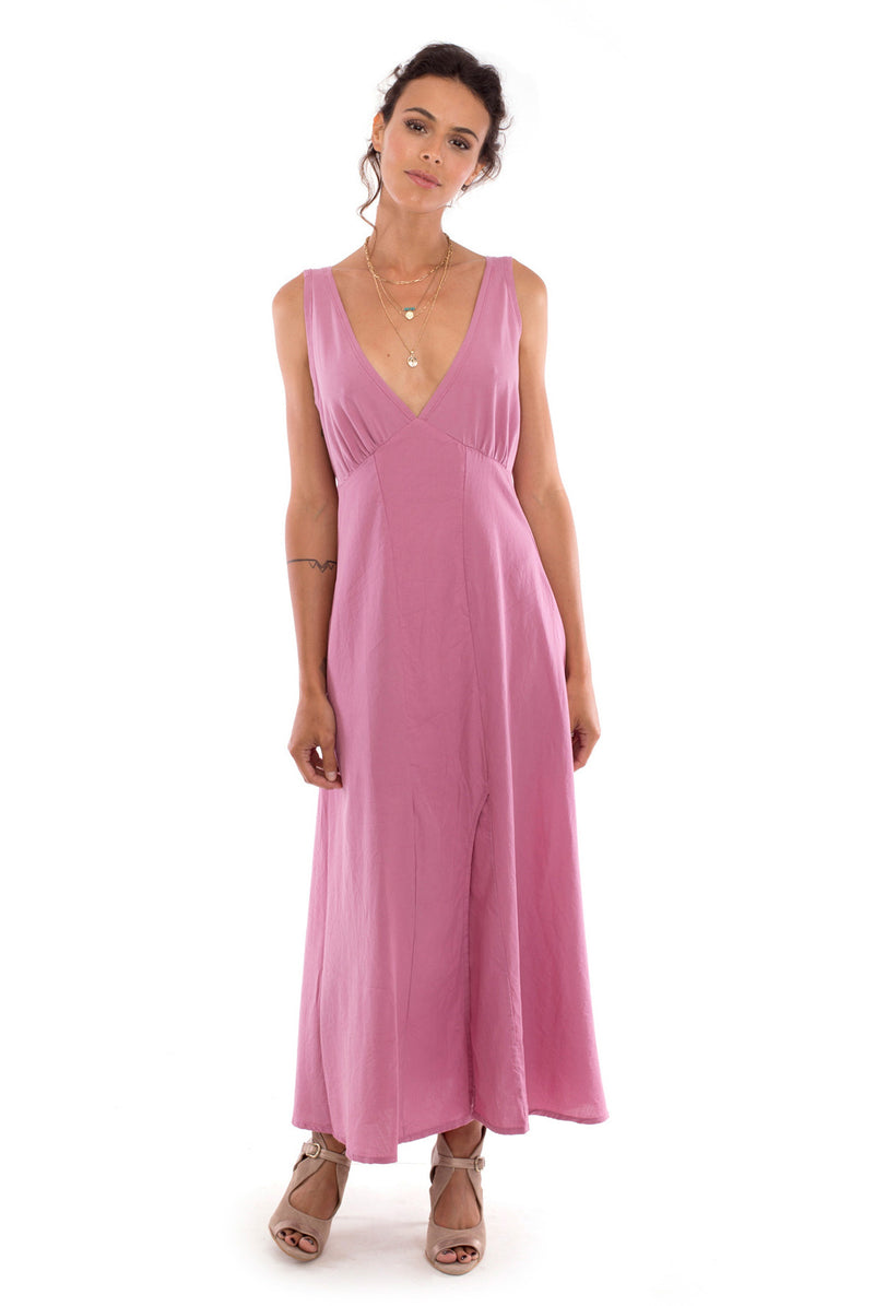 Fay - Maxi Dress - Colour Violet - RV by Elisa F 1