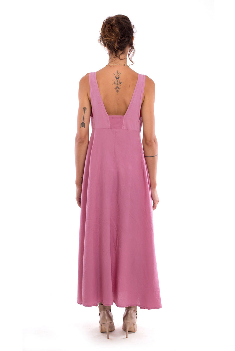 Fay - Maxi Dress - Colour Violet - RV by Elisa F 2