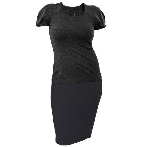 DOUBLE DUTY KNIT DRESS