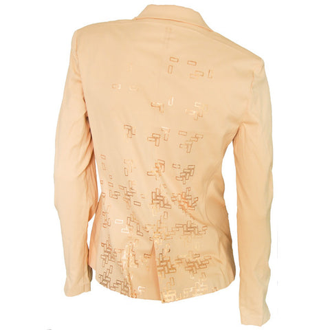 MANCHESTER WOVEN JACKET -Hay Now/Rose Gold