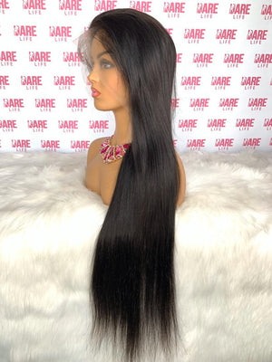 Eurasian Sleek Straight - HD Lace Frontal Wig
