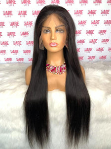 Straight Transparent Lace Frontal Wig