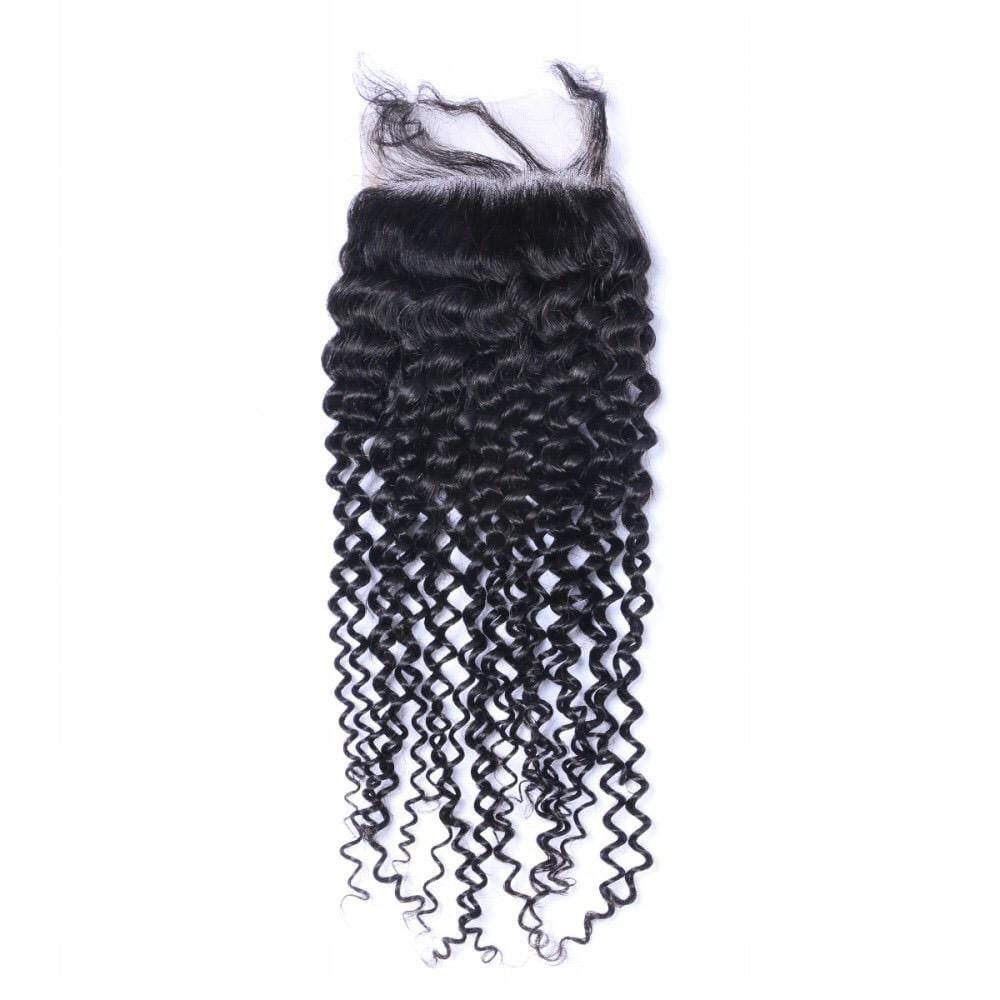 Mongolian Thick Curl Lace Closure