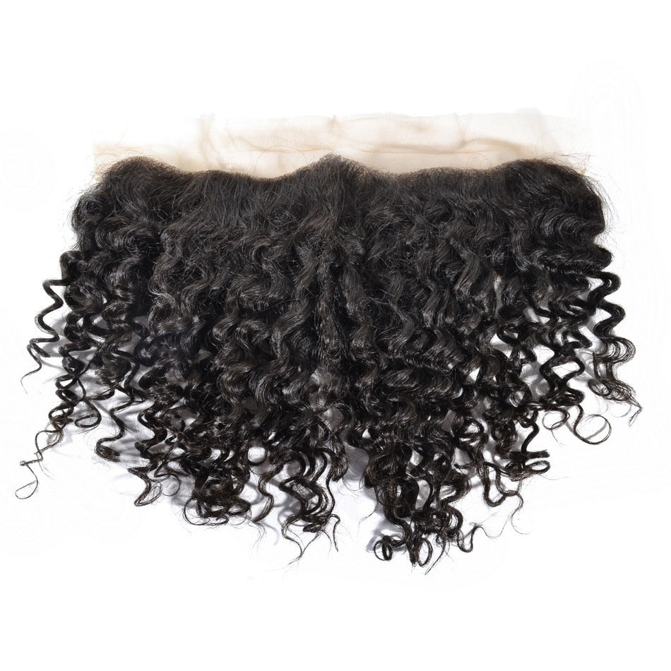 Burmese Beach Curly Lace Frontal