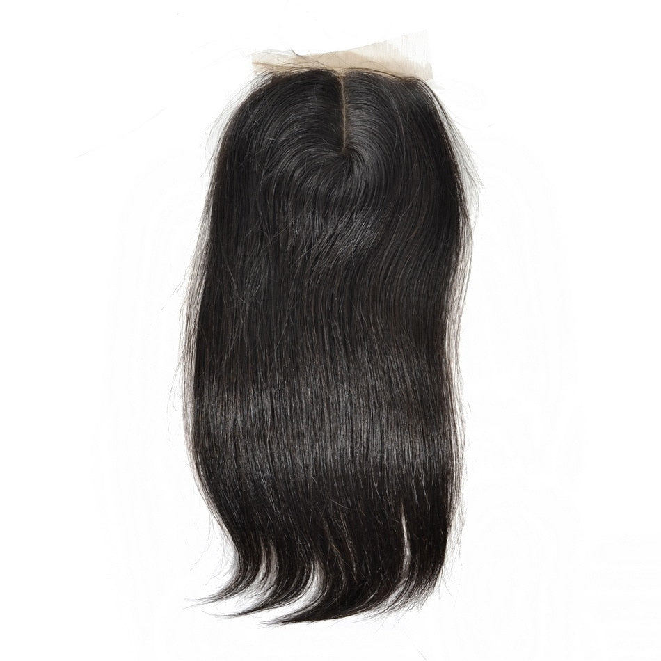 Eurasian Sleek Straight Silk Closure