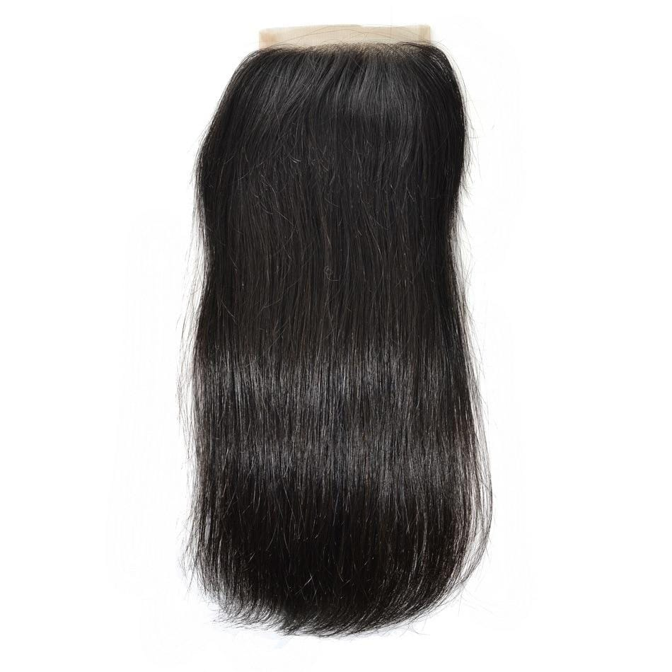 Peruvian Prissy Straight Silk Closure