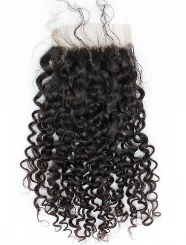 Burmese Beach Curly Lace Closure