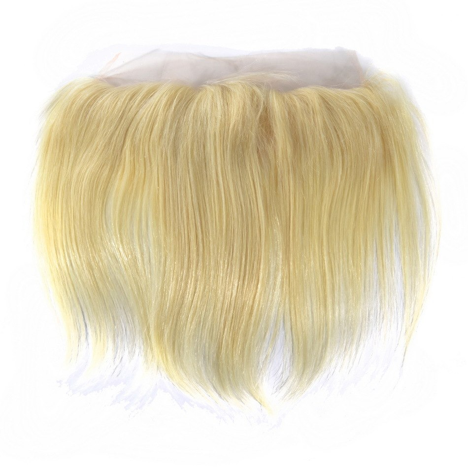European Luxury Blonde Straight Lace Frontal