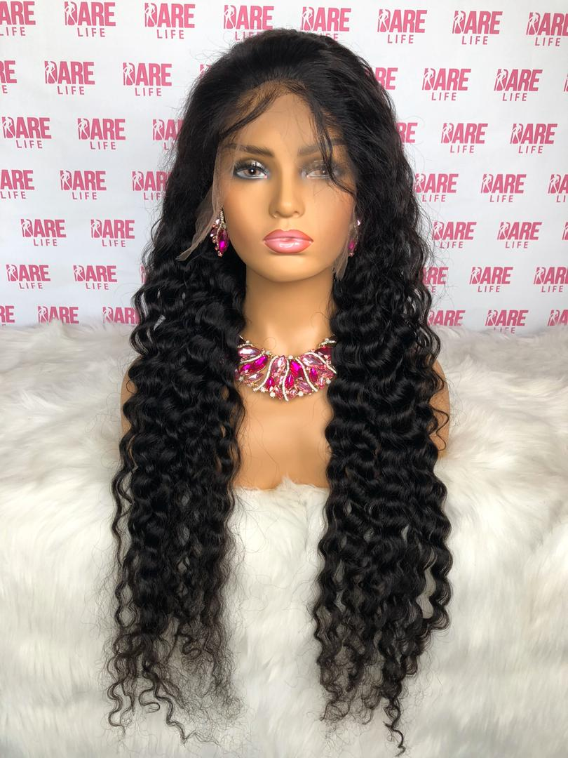 Indian Love Curl - HD Lace Frontal Wig