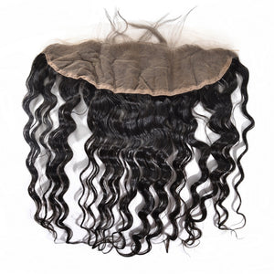 Indian Pure Wavy Lace Frontal