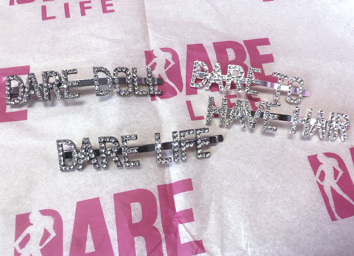 Bling Glam DARE Clips
