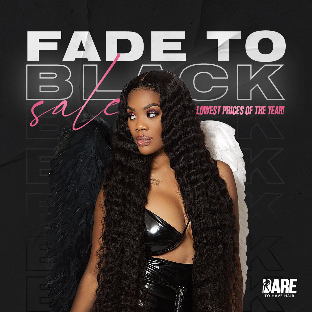 Fade to Black 4x4 Lace Closure